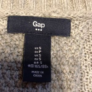 GAP Sweaters - GAP gray knit sweater with inverted pleat back